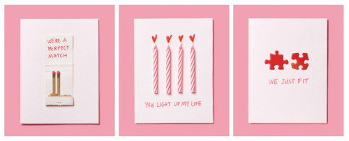 DIY Valentine's Day Cards in less than a minute
