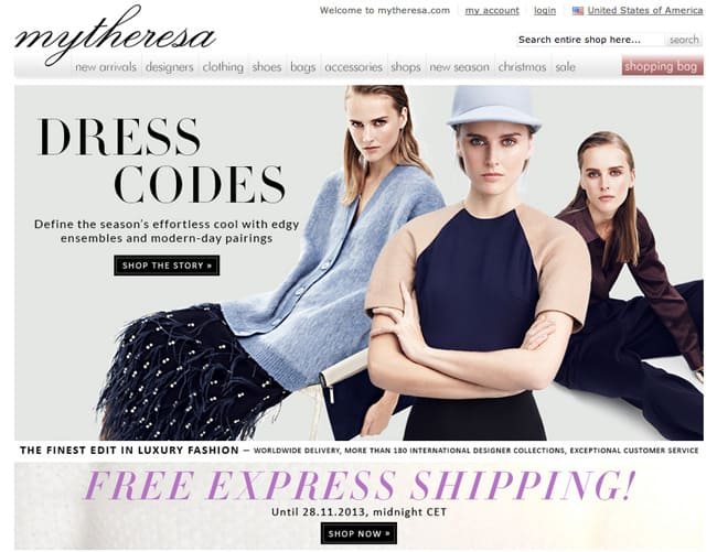 Best online designer clothing, shoes and bags