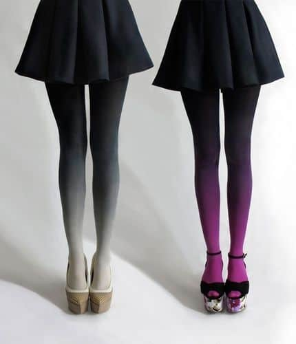 5 Winter Style Staples - Ombre Tights