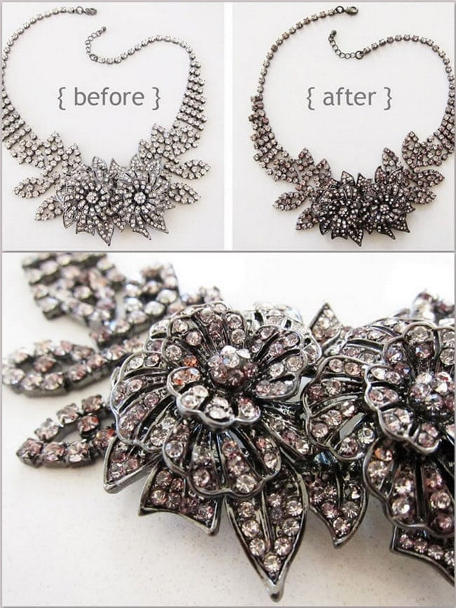 DIY Sharpie Jewelry - add a vintage touch to your jewelry with a sharpie pen