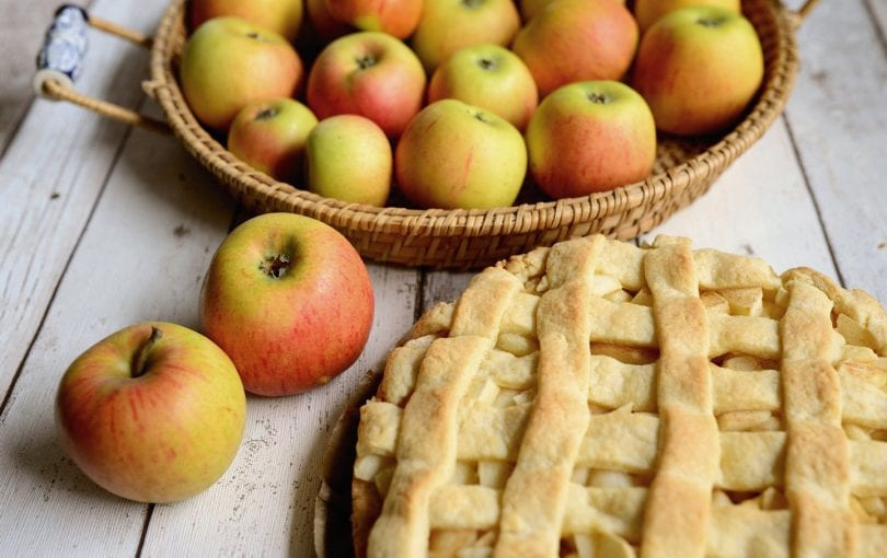 Basic apple pie recipe for Fall and Holiday Season