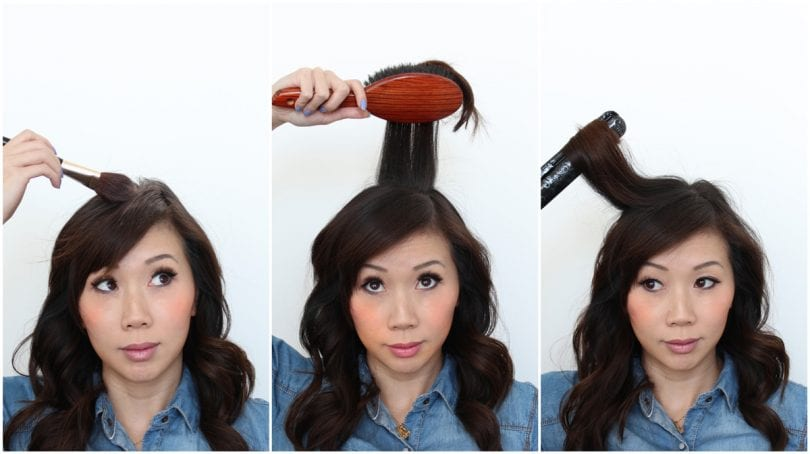 How to apply homemade dry shampoo. Dust on your hair, wait for a few moments, brush out and style!