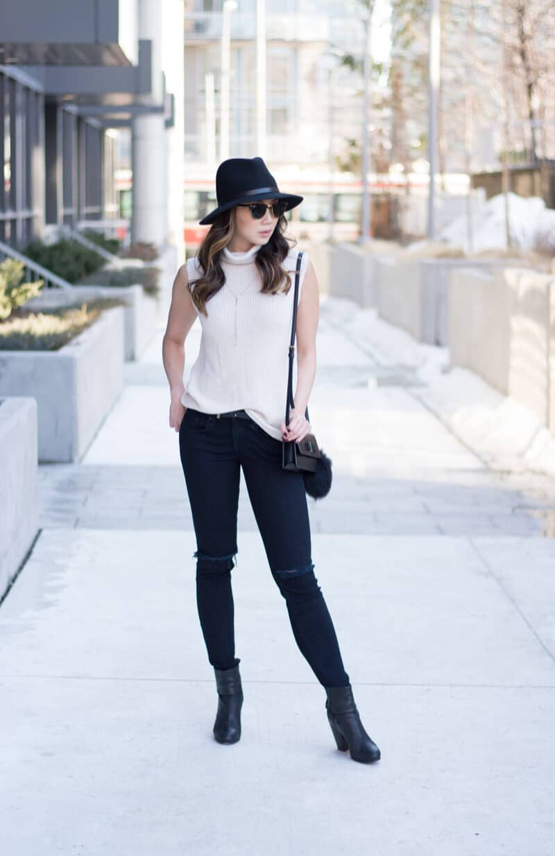Easy to wear every day with ripped jeans and sweater