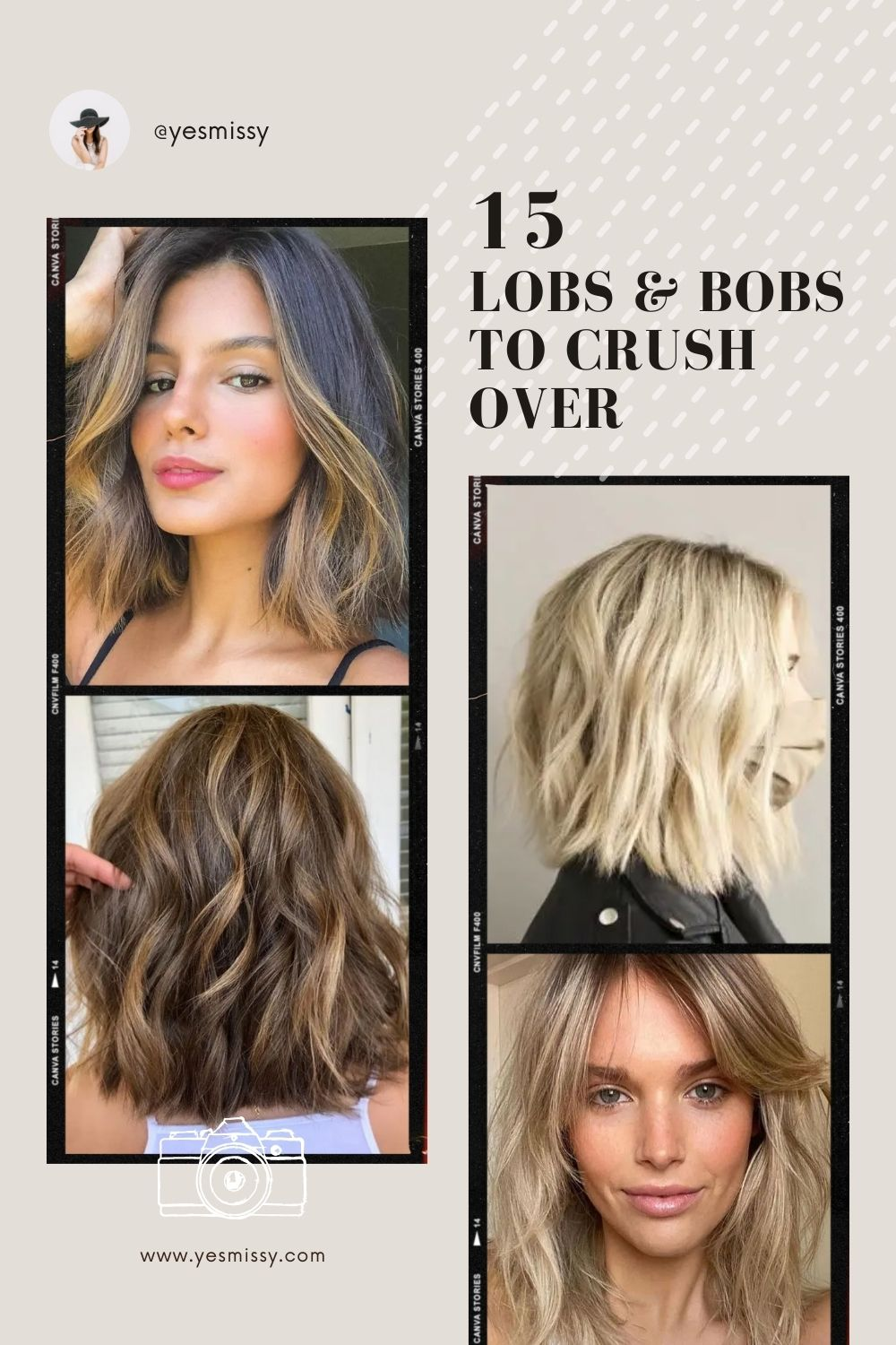 Haircut inspo - 15 Bob and Lob haircuts that will make you want to cut your hair rn!