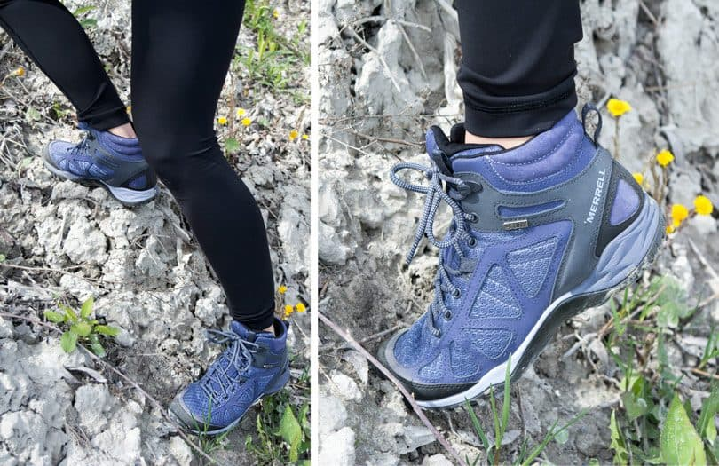 Hiking at Scarborough Bluffs in my Merrell Footwear