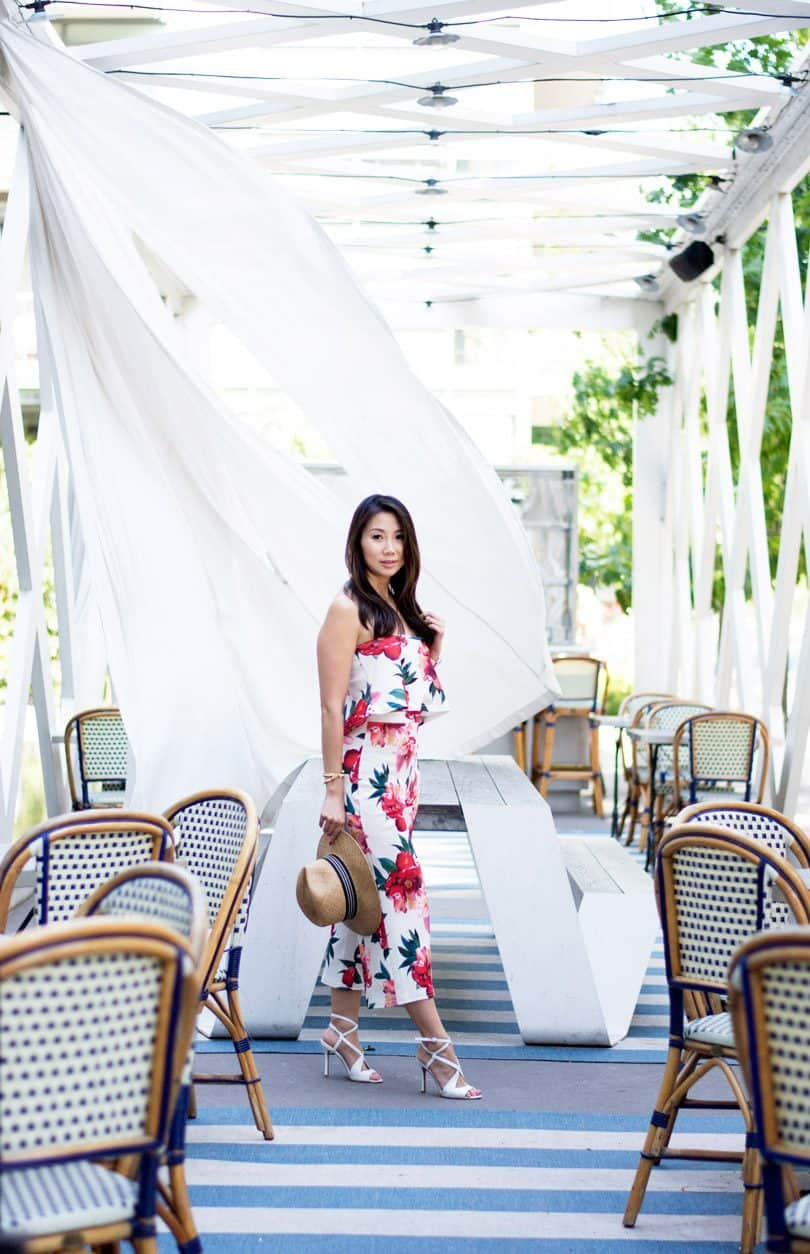 Summer Style: Floral co-ord set from Boohoo x Stella Hudgens