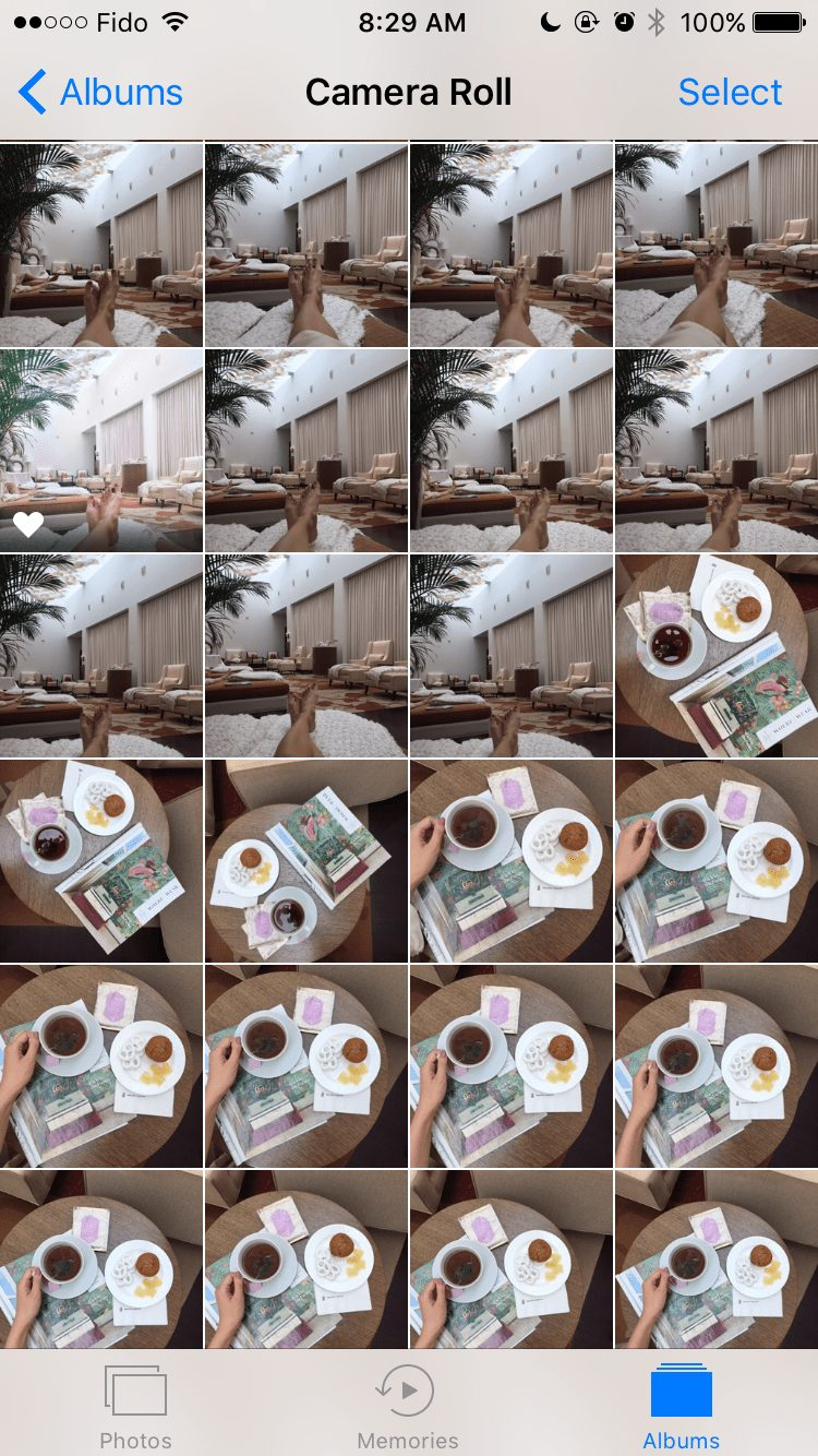 Instagram Tips - take many photos to you can pick the perfect one
