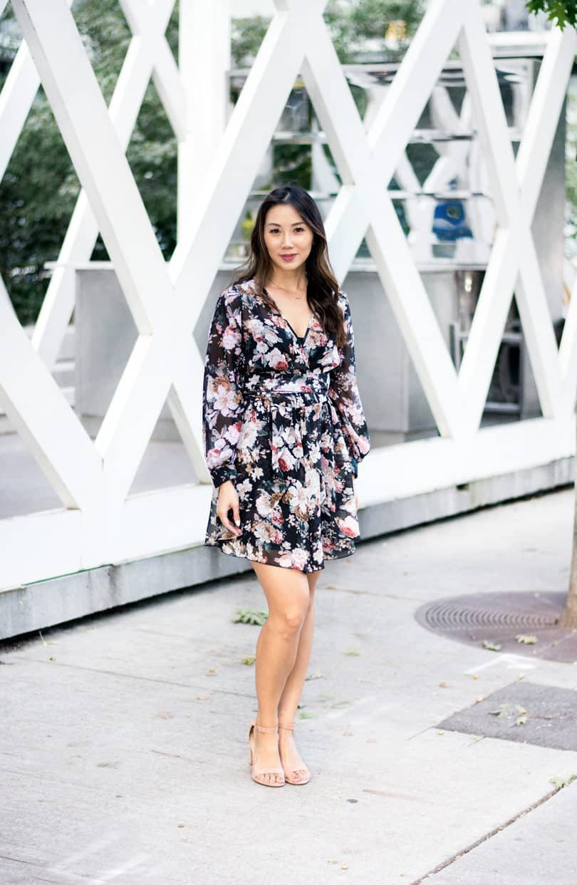 What I love about this dress is that it transitions from summer to fall beautifully.