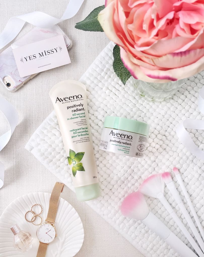 Pampering yourself doesn't need to take extra time. Aveeno's in shower hydrating facial works while you shower!