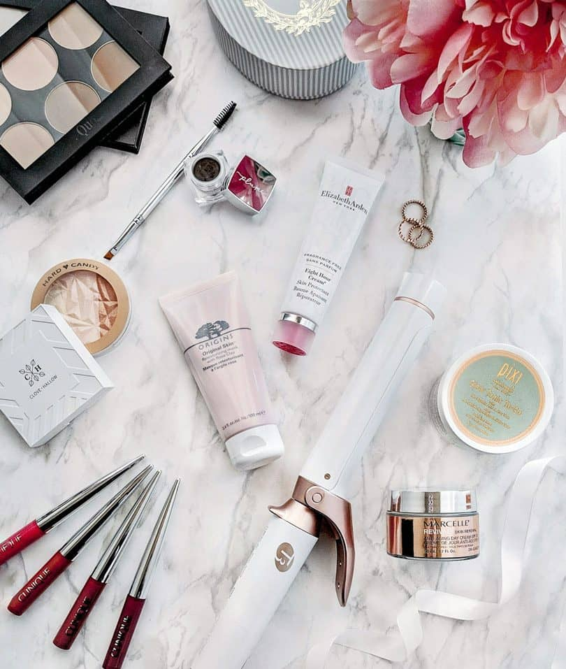 January Beauty Review for skincare, makeup and haircare. Products from Elizabeth Arden, Origins, Clinique, T3micro, Clove + Hallow, Hard Candy and more
