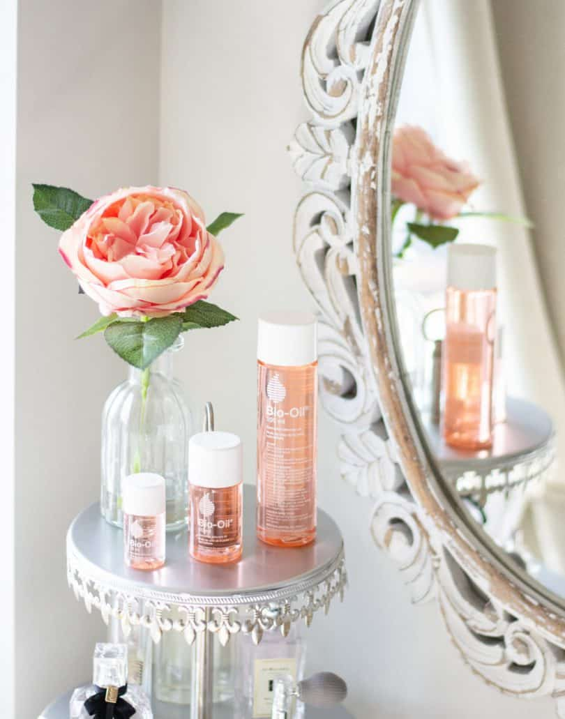 How to use Bio-Oil as part of your skincare routine to help improve the appearance of wrinkles, scars and hyperpigmentation