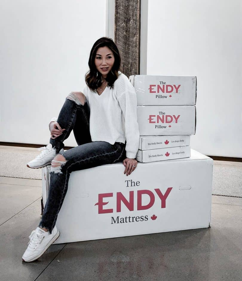 Endy matress unboxing ...more at yesmissy.com