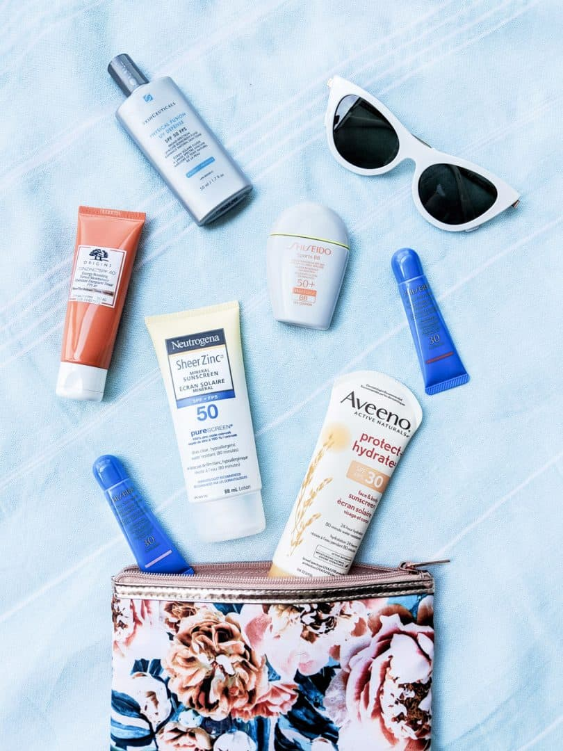 A lot of sunscreens for face feel greasy or give the skin a weird white cast, but these are lightweight and invisible for everyday use.