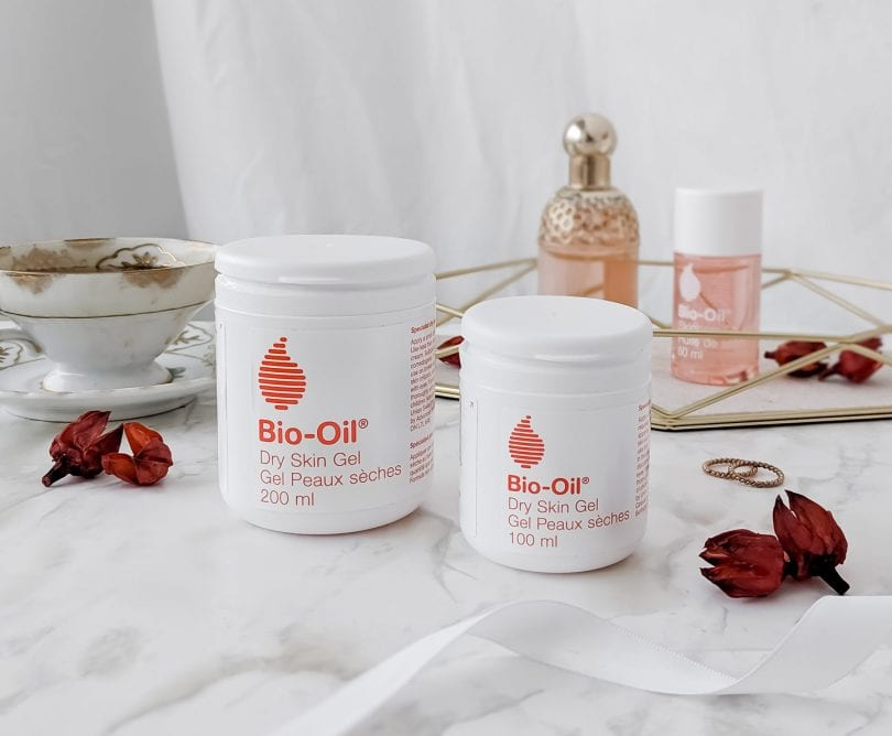 Lifestyle Blogger Eileen Lazazzera of YesMissy shares her review on Bio-Oil Dry Skin Gel