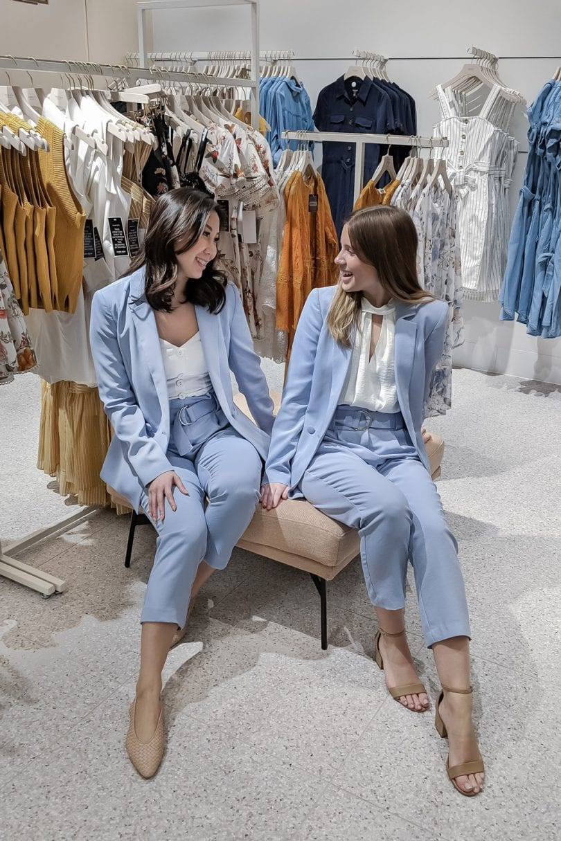 Blue suits from Evernew - YesMissy Fashion Blogger