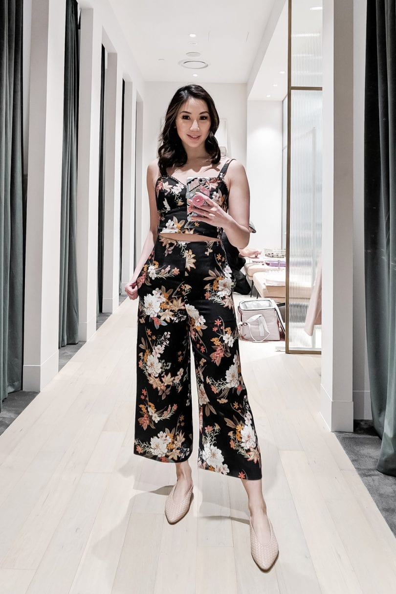Summer Outfit - 2 piec coord set, tank and pants