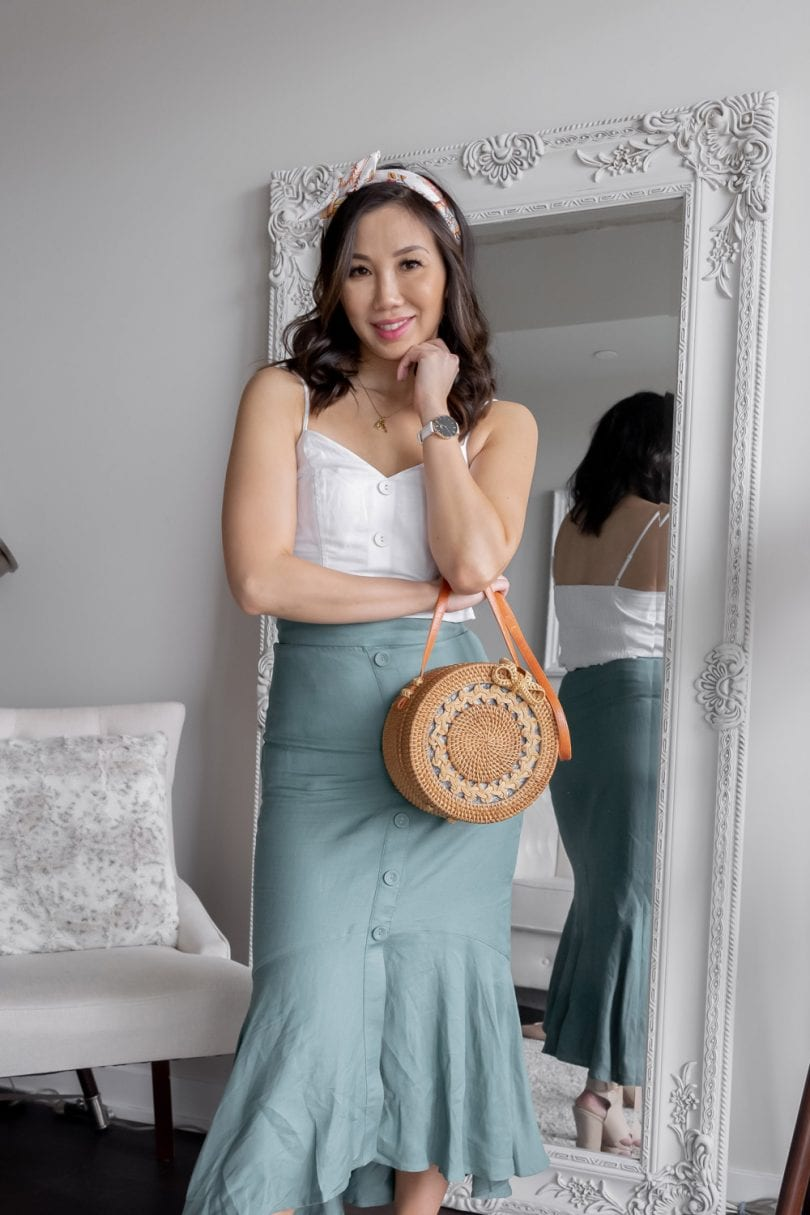 Summer outfit ideas from Evenew - just opened at Square One, Toronto