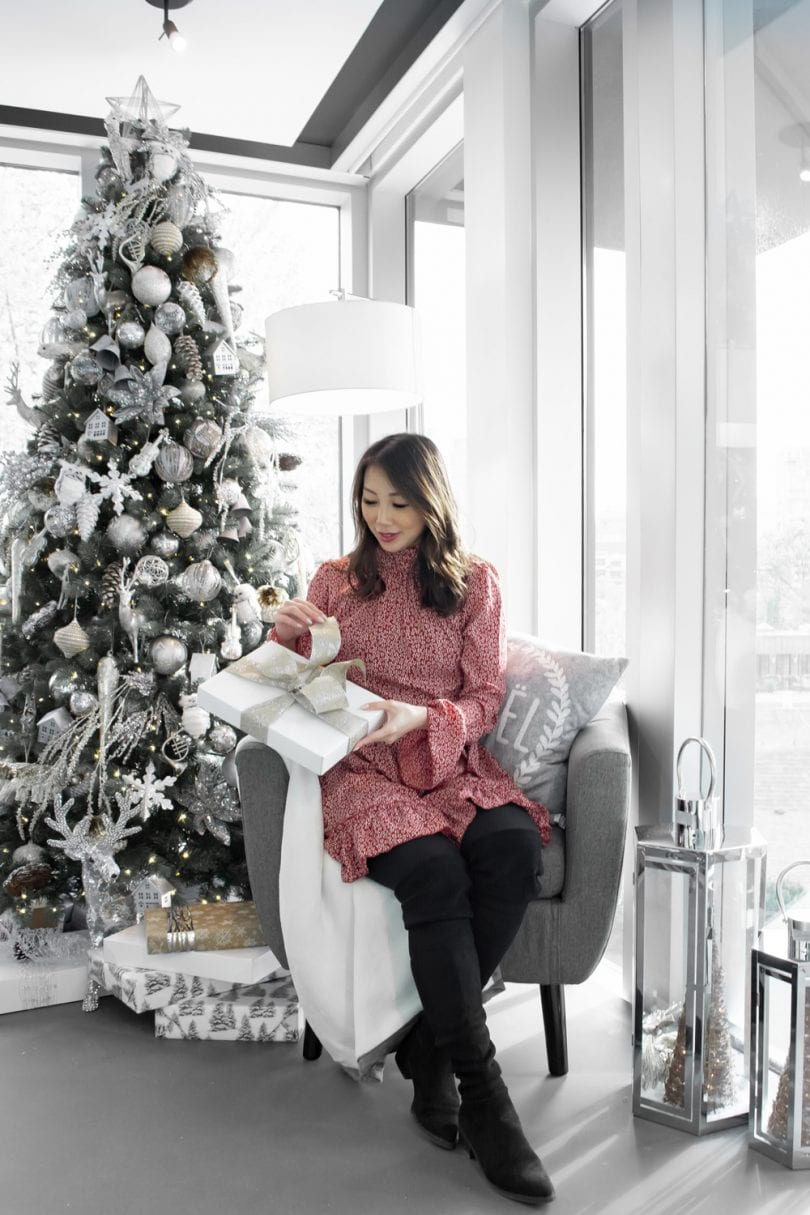 Holiday Gift Ideas - unwrapping presents under the Christmas Tree...