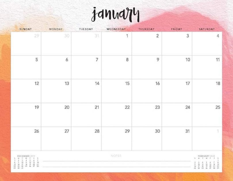20 Free Printable Calendars for 2021 with 75 versions!