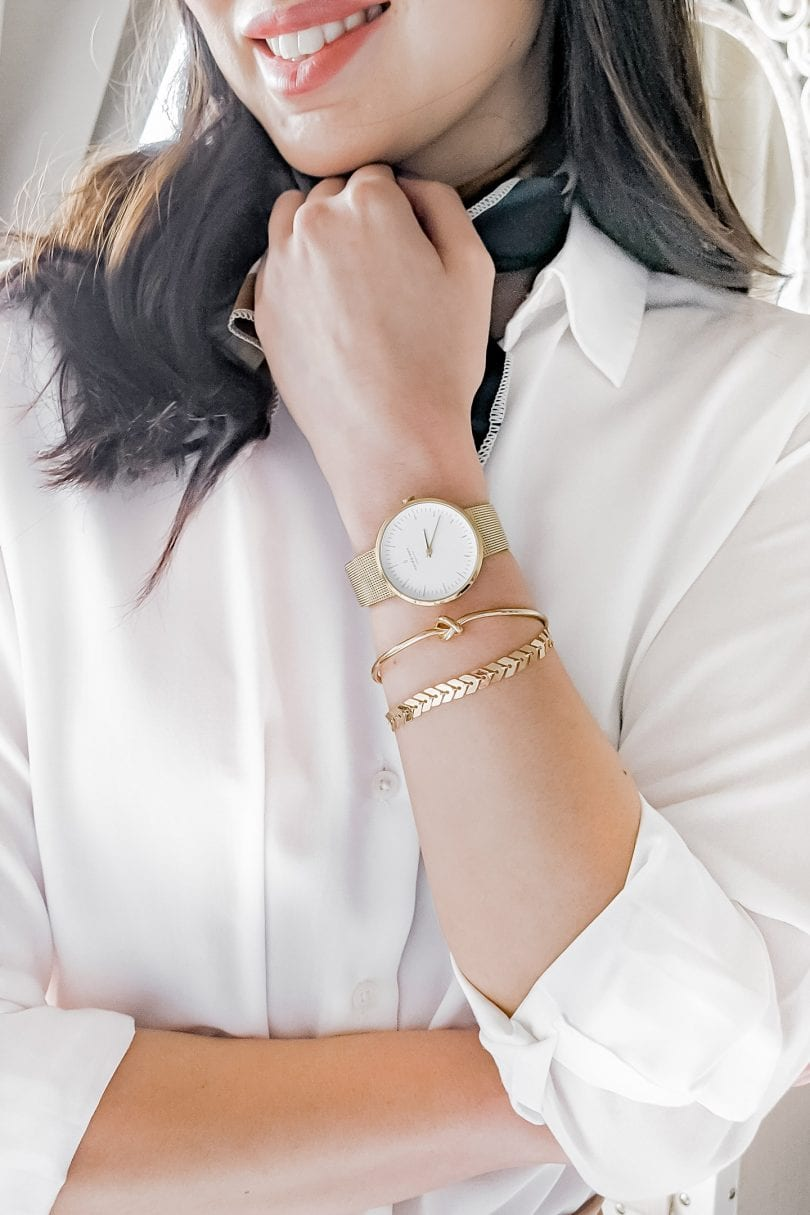 Reviewing the Scandinavian Designed Nordgreen Watch on YesMissy, a lifestyle blog by Eileen Lazazzera