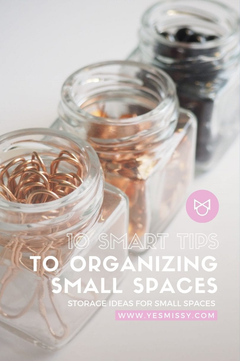 10 storage ideas for small spaces