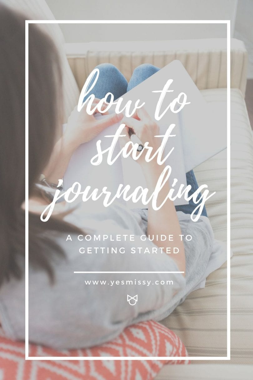 How to start a journal - a beginners guide to journaling, journal prompts, tips and tricks and the benefits of keeping a journal habit