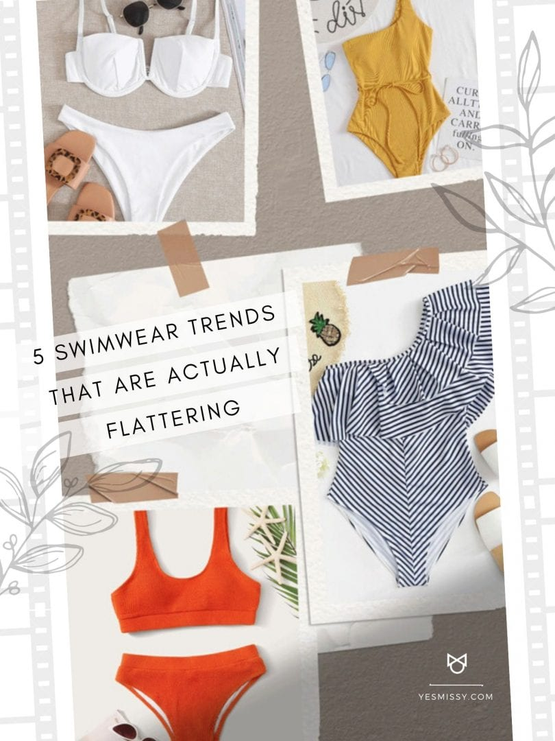 5 trends in swimwear that are flattering for all body types