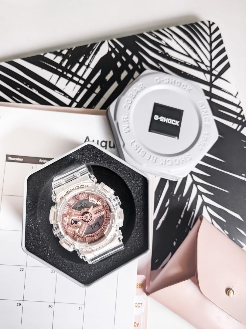 Watch Review - Casio G-SHOCK Women's watch from the Transparent x Rose Gold Collection