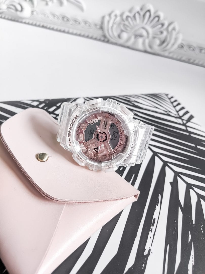 Watch Review: Casio G-SHOCK transparent x rose gold watch collection by YesMissy Lifestyle Blog