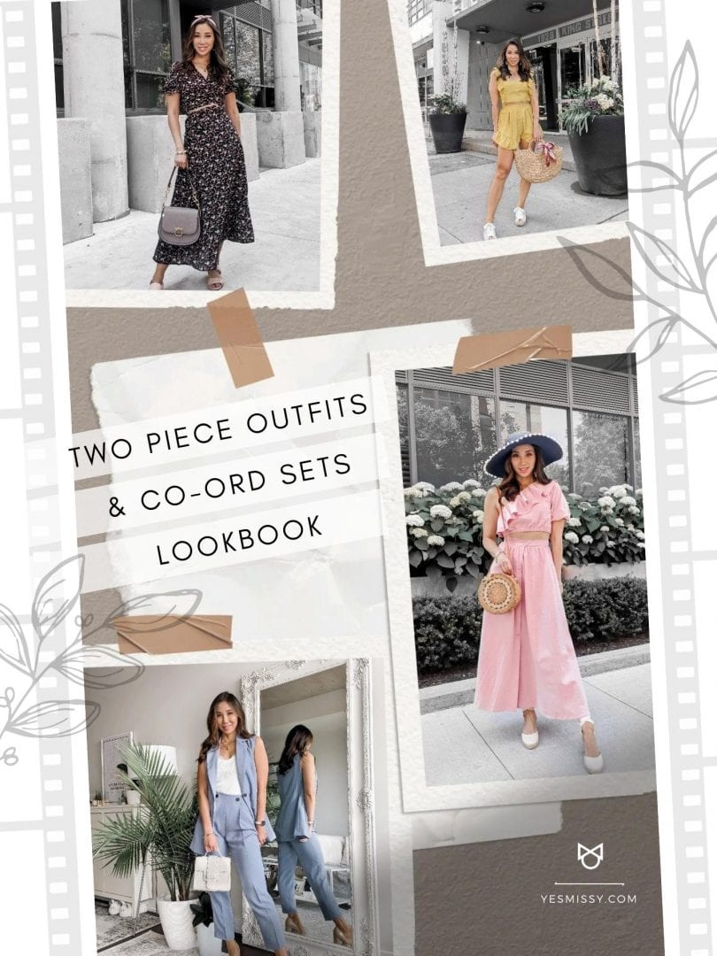 Outfit Inspiration: 2 piece outfits, coord sets and matching sets by YESMISSY