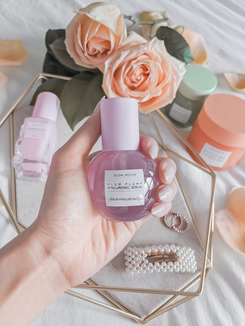 After application, my face feels plump, smooth, and ready for makeup application — and the cute bottle doesn't hurt, either. Glow Recipe's Plum Plump Hyalauronic Serum