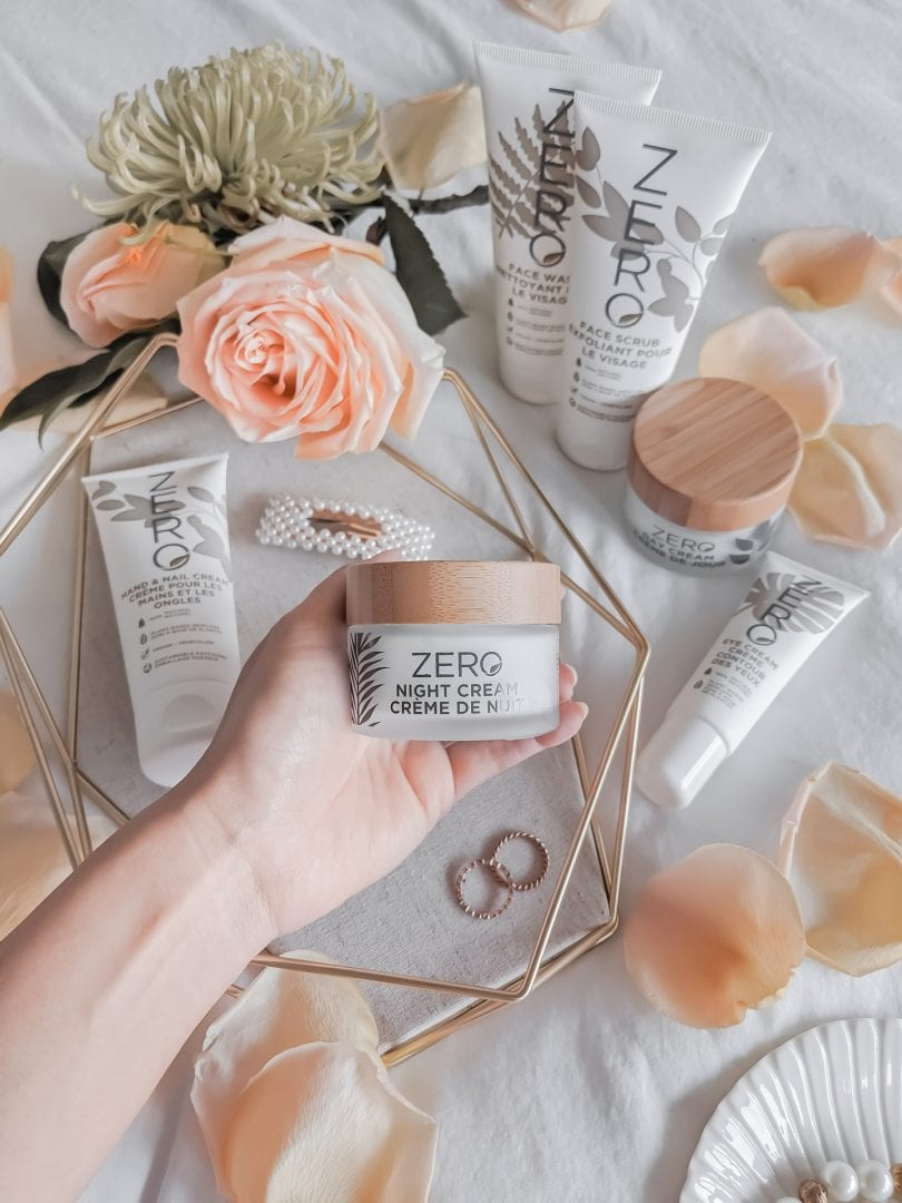Natural plant based skincare from Zero by Skin Academy. A clean beauty brand that's great for sensitive skin and gentle for all skin types..