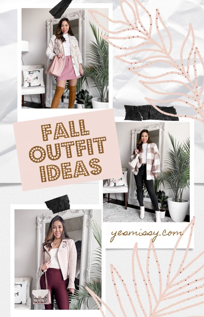 Cute fall outfits for women - ideas for what to wear this season!