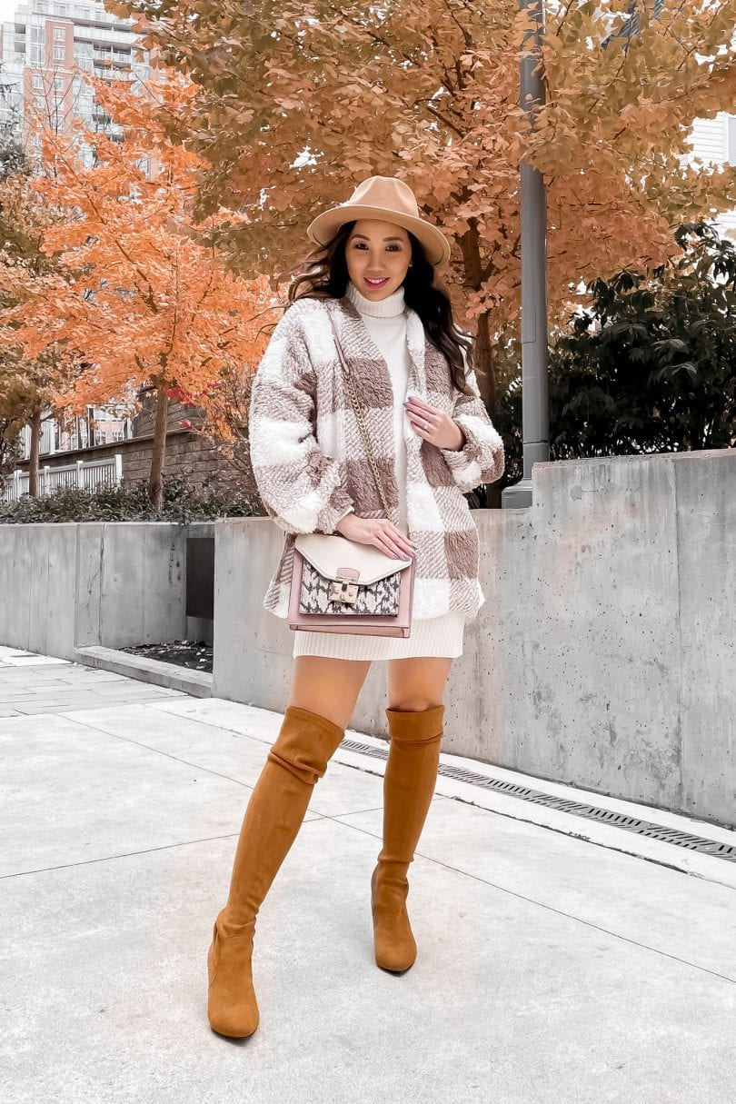 Favourite Sweaters - sweater dress for fall and winter