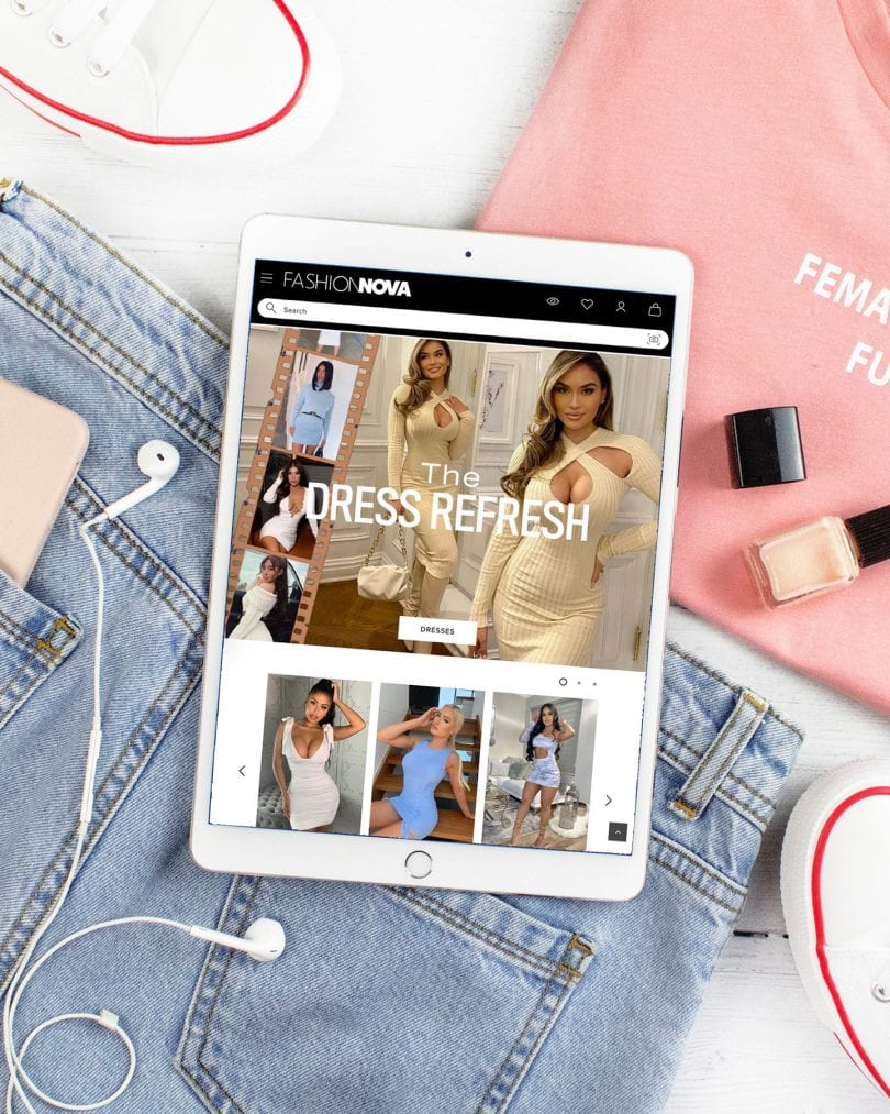 A collection of the best online shopping websites like Fashion Nova and more...