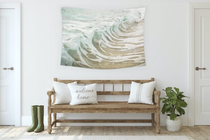 Tip #1 - When choosing wall art for your home, consider which room you'll be placing your artwork in... More tips at yesmissy.com