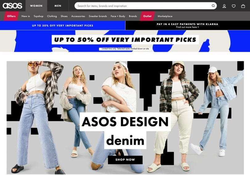ASOS is a top online shopping website for affordable trendy tops, bottoms, dresses, jewelry and accessories