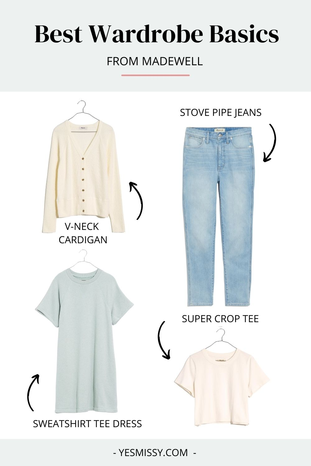 If you're shopping for wardrobe basics, Madewell should  be on your checklist. They make great tees, jeans and sweaters, and everything is oh so comfortable!