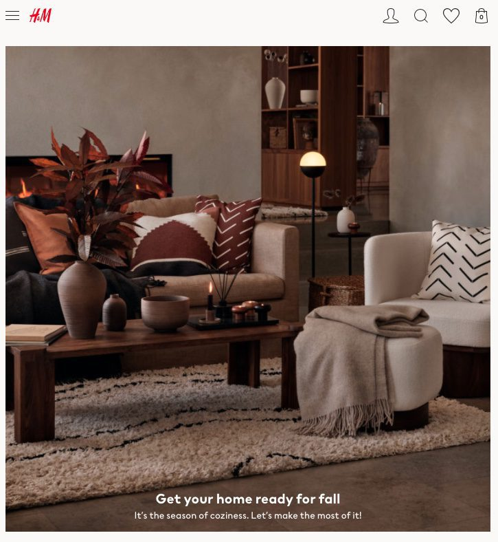 H&M Home is a cheap alternative to shopping at Pottery Barn for bedding, pillows, throws, and decor pieces.