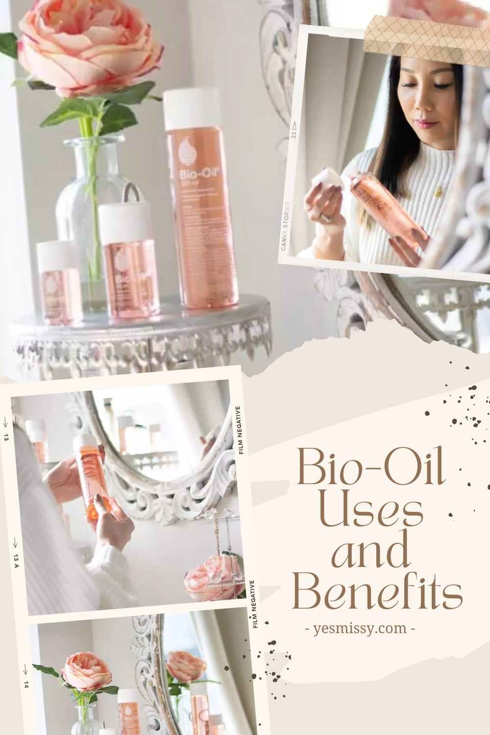 Bio-Oil for face: Does Bio-Oil work on scars, wrinkles, and pigmentation? It does that and so much more. Learn 5 ways to ad add Bio-oil to your skincare routine.